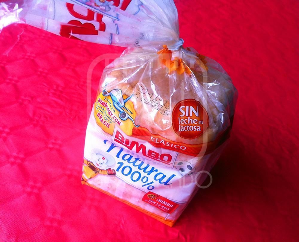 Pan de molde Bimbo Natural 100%