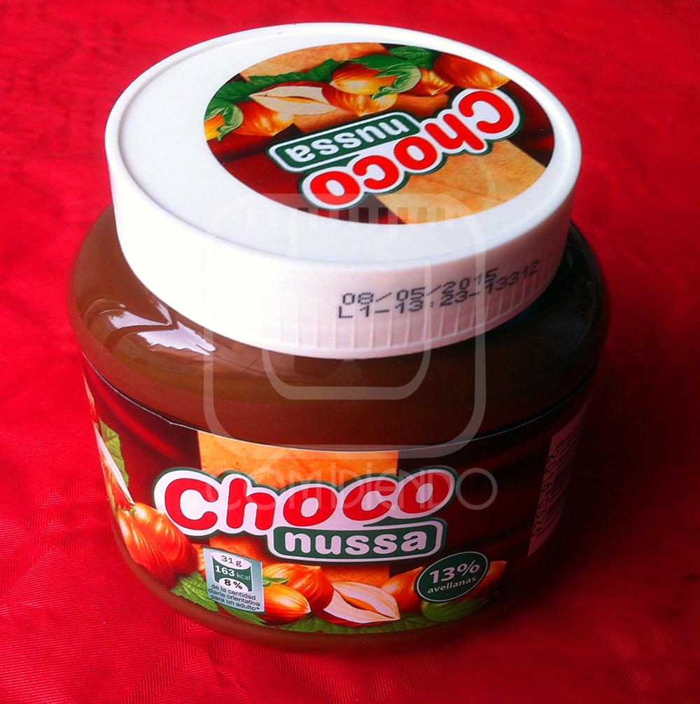 Review de crema de avellanas y cacao Choco Nussa