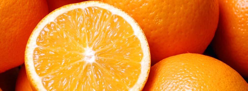 Alimentos para perder peso. Naranjas