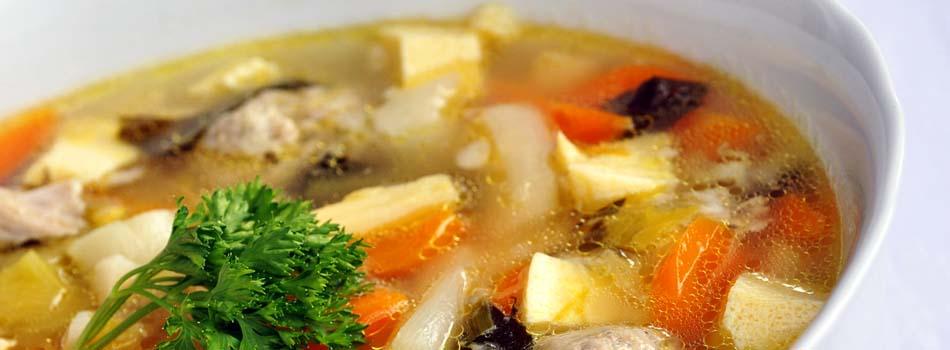 Alimentos para el invierno - Sopa de pollo