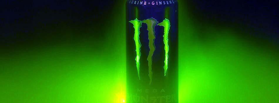 Bebidas energéticas. Monster