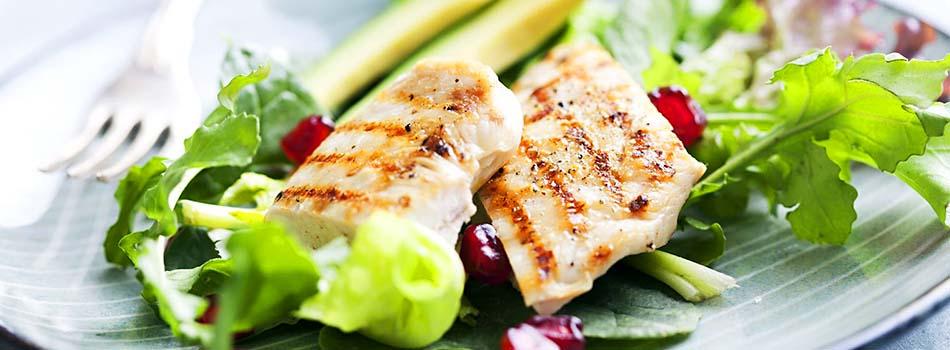 Alimentos anti estrés - Ensalada de pollo