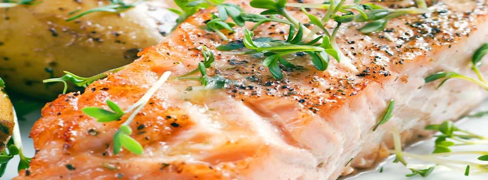 Alimentos anti estrés - Salmón a la plancha