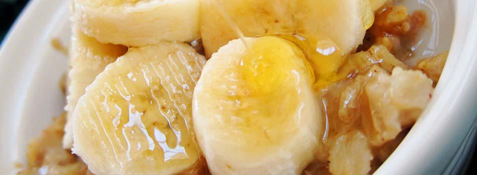 Alimentos anti estrés - Avena con plátano
