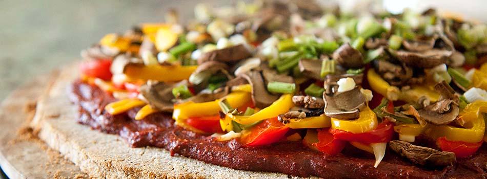 Pizza artesanal y deliciosa - Muchos ingredientes