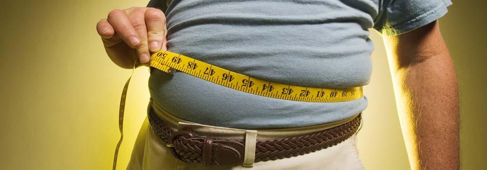 Proteína contra la obesidad - Cinta de medir barriga