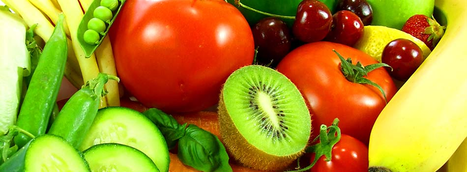 Reglas para una buena alimentación - Frutas y verduras