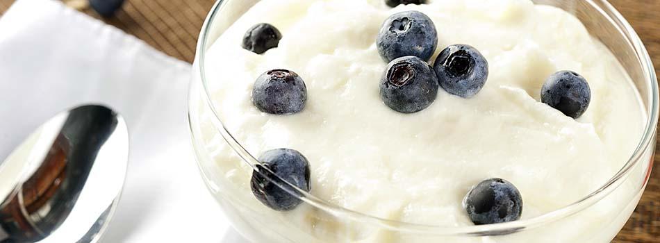 Yogur griego - Copa con arándanos