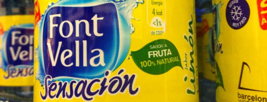 Alimentos impostores -Agua con sabores