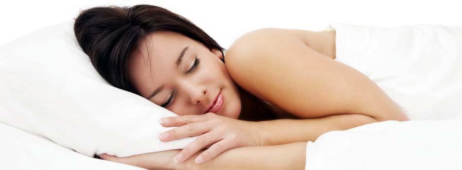 Comer y dormir bien - Mujer durmiendo