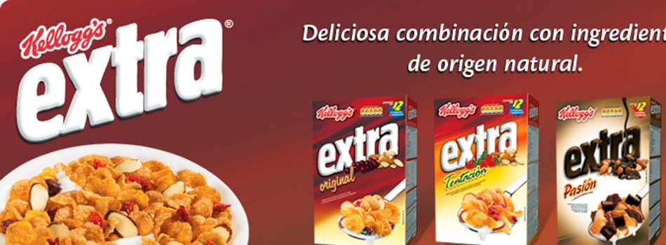 Grasas interesterificadas - Kellogg's Extra