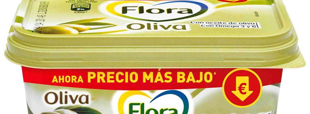 Margarina Flora Oliva